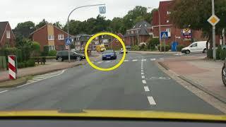 Fahrstunde in Leer Teil 1 Verbotsschild an der Daalerschule