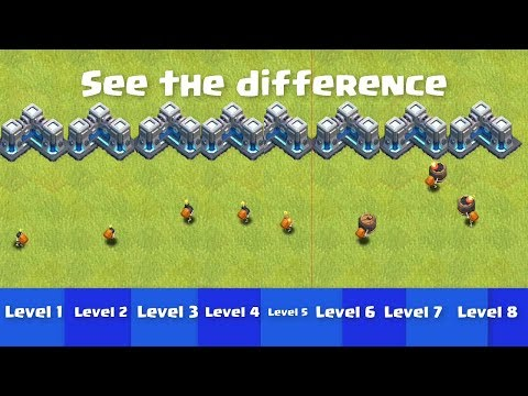 Every Level Wall Breaker VS Max Level Walls | Clash Of Clans