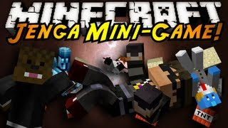 Minecraft Mini-Game : JENGA!