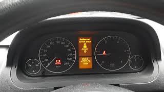 reset pression des pneus class a et  Class b 2007