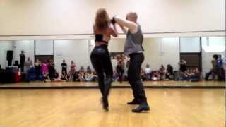 Ataca y La Alemana Promise bachata dance video thumbnail