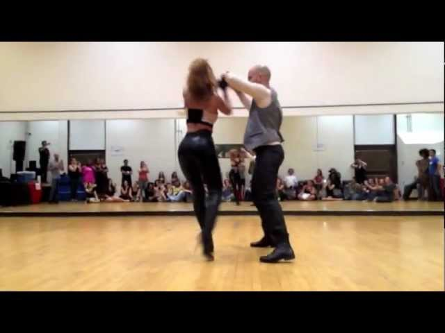 Ataca y La Alemana Promise bachata dance video Travel Video