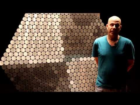 Daniel Rozin Speaks about Works Featured in Into the Ether: Contemporary Light Artists