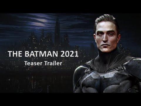 THE BATMAN (2021) Teaser Trailer Concept – Robert Pattinson, DC Batman Movie