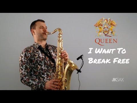 Queen - I Want To Break Free Saxophone Cover by JK Sax