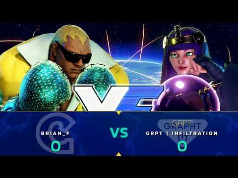 SFV: Brian_F vs GRPT   Infiltration - Capcom Cup 2017 LCQ Loser Finals - CPT 2017