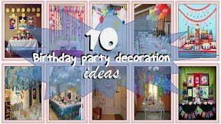 Video KIDS BIRTHDAY PARTY DECORATION IDEAS ~ 10 IDE DEKORASI PESTA ULANG TAHUN ANAK download MP3, 3GP, MP4, WEBM, AVI, FLV Juli 2018