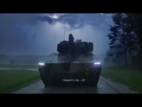 Lynx Rheinmetall KF31 tracked IFV Infantry Fighting Vehicle armoured German Germany defense industry