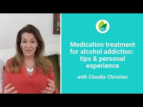 Claudia Christian on Medication Treatment for Alcohol Addiction: Personal Story + Tips (full)
