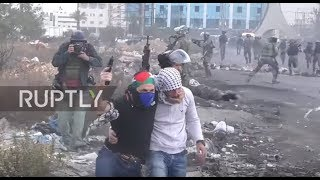 State of Palestine: Clashes intensify near West Bank settlement