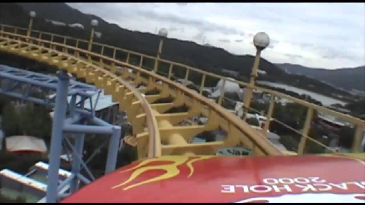 Black Hole 2000 Roller Coaster Front Seat POV Seoul Land