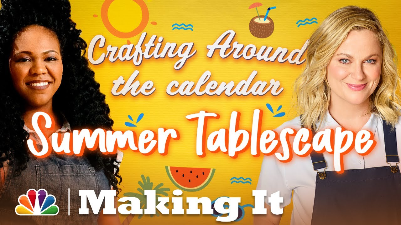 Learn to Create a Summer Tablescape - Making It