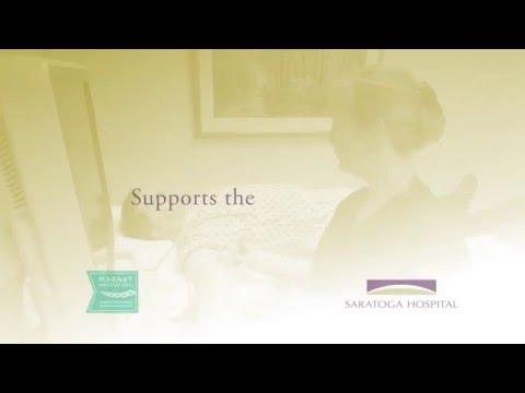 "Saratoga Hospital ""I Choose Campaign"" with Keely Ralston"