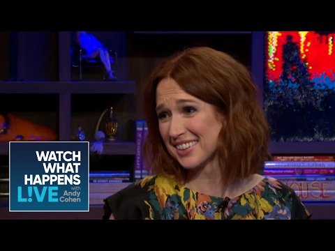 Ellie Kemper Grills Andy About St. Louis, Jon Hamm, Imo's Pizza | Plead the Fifth | WWHL