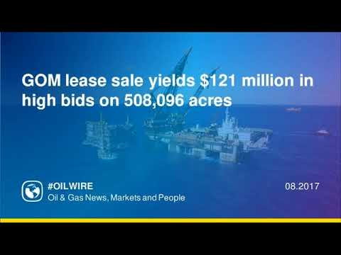 GOM lease sale yields $121 million in high bids on 508,096 acres