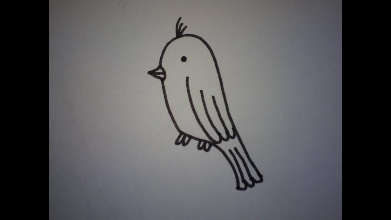 Hoe teken je een vogeltje makkelijk how to draw a bird youtube - Hoe je je keuken op te lichten ...