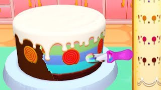 Fun Kids & Girls Cooking Games - My Bakery Empire Baby Learn Color, Decorate, Cook Yummy Cakes