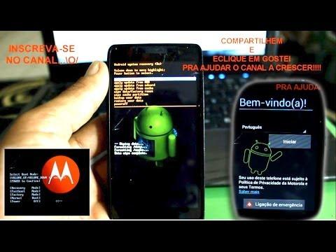 Hard Reset Motorola RAZR D3 Como Formatar, resetar Desbloquear, Travado