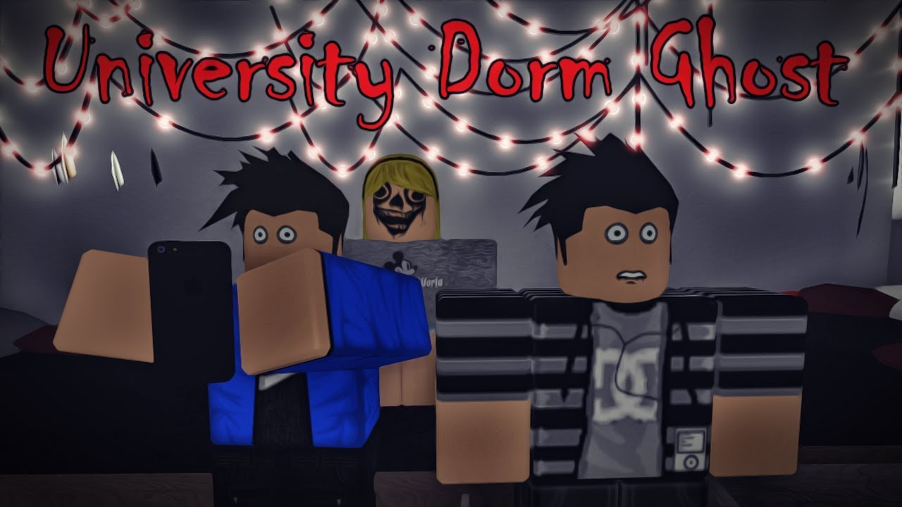 University Dorm Ghost ( A Roblox Horror Story )