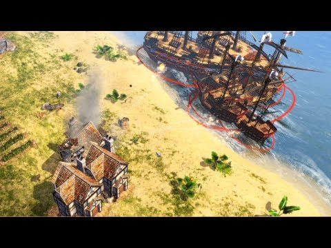 Age of Empires 3 - NAVAL AND LAND | Multiplayer Gameplay