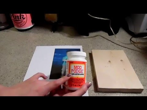 DIY Transferring Images to Wood (Home Decor) Pt1