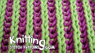 Twocolor Brioche Stitch