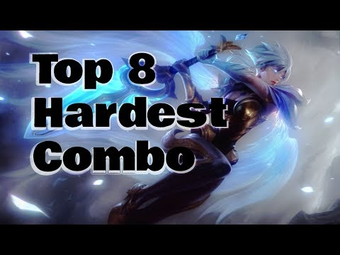 Top 8 Hardest Combo in League Of Legends
