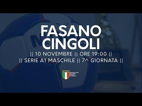 Serie A1M [7^]: Fasano - Cingoli 26-24