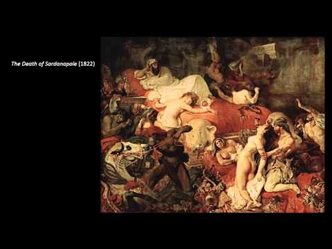 Eugene Delacroix  (The Roots of Modern Art part 2) by dr. christian conrad