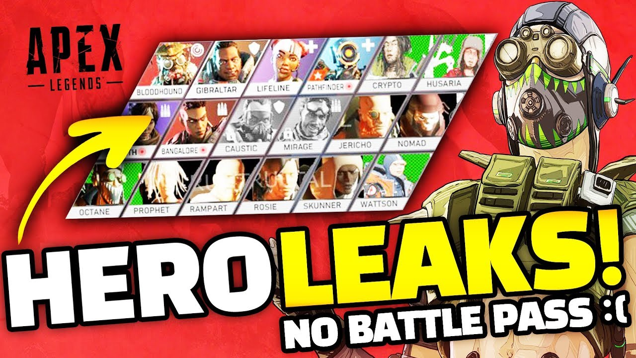 The 'Apex Legends' Season 1 Battle Pass Is Not Releasing Today, March 12, Despite Leaks