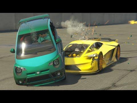 PARA EL MINICOCHE YA!! - GTA V ONLINE - GTA 5 ONLINE thumbnail