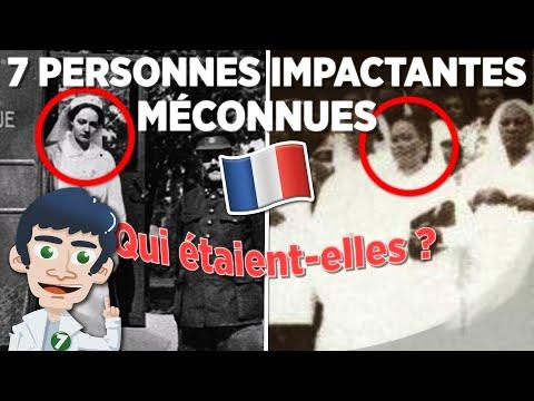 7 PERSONNES MÉCONNUES QUI ONT IMPACTÉ LA FRANCE