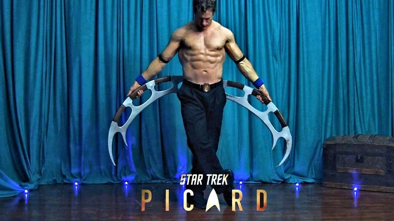 Star Trek Picard Make It So Song New 2020 Music Video Martial Arts Dance Ben Ryan Metzger