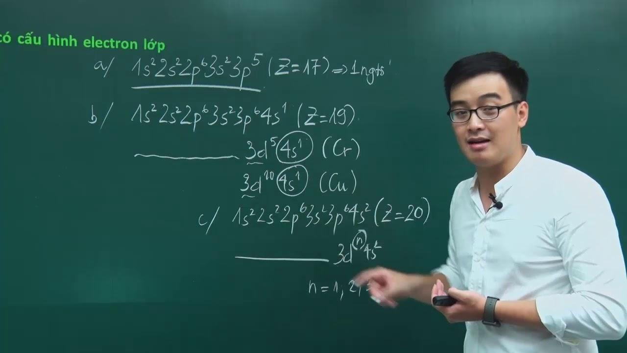 Bài tập thành phần nguyên tử – nâng cao – Thầy giáo Phạm Thanh Tùng
