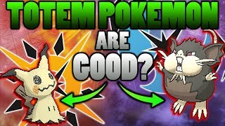 Are Obtainable Totem Pokemon Actually Good In Pokemon Ultra Sun and Moon?