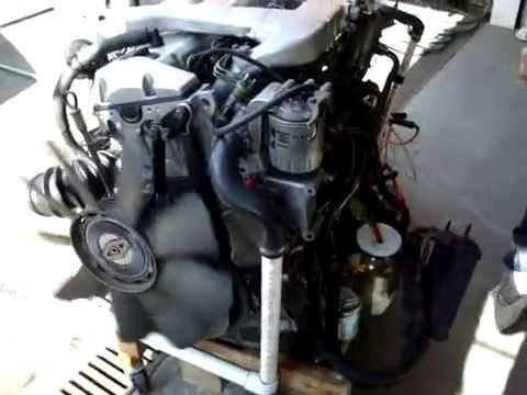 w124 engine mercedes w124 300d engine youtube. Black Bedroom Furniture Sets. Home Design Ideas