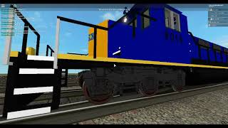 ROBLOX Longest CSX Train in the world