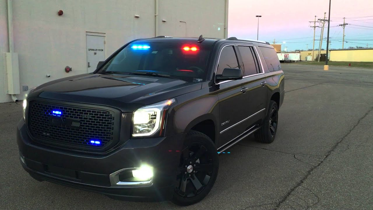 Gmc Yukon Xl Denali Police Suv Unmarked Youtube