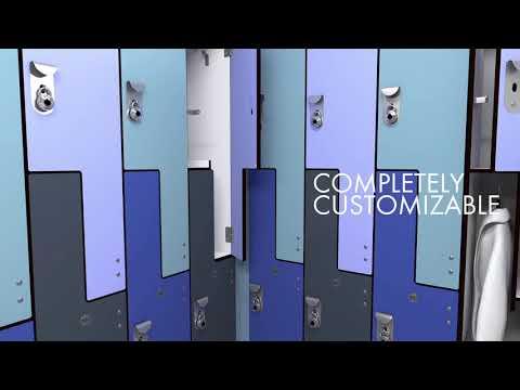 Manufacturing Lockers Using Solid Phenolic