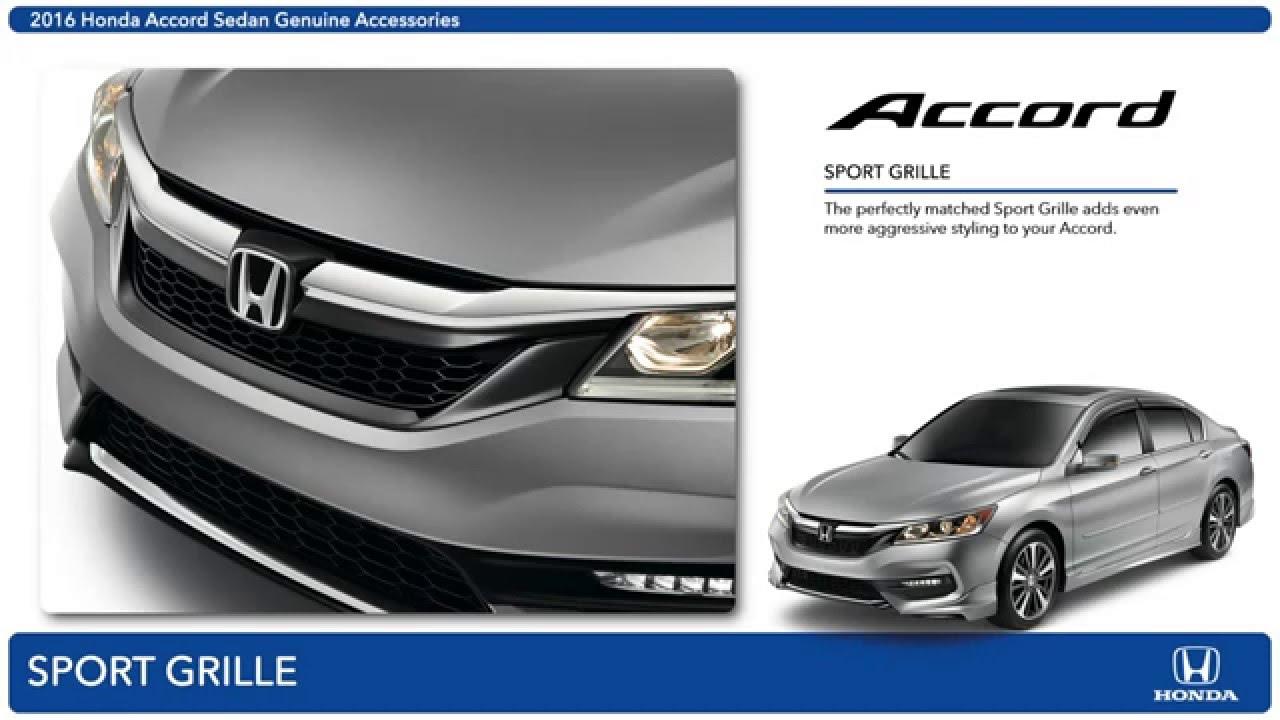 2016 Honda Accord Sedan Accessories