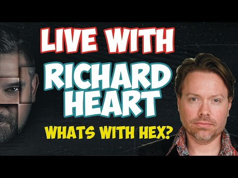 Live With RICHARD HEART - Whats With HEX?
