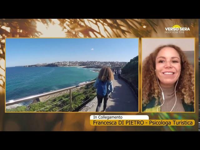 Verso Sera, 12/10/20. Misa Urbano e Manuel Bartolini ospitano Francesca Di Pietro, travel coach