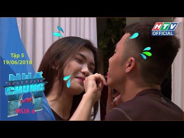 HTV NGÔI NHÀ CHUNG MÙA 6 | Ngã ba đường | NC #5 FULL | 19/6/2018