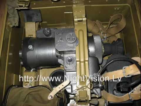 Soviet Army night vision rifle scope 1PN51 NSPUM-3