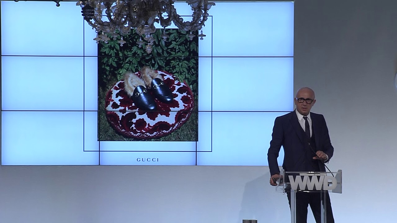 WWD CEO Summit – Marco Bizzarri, Gucci   WWD - YouTube