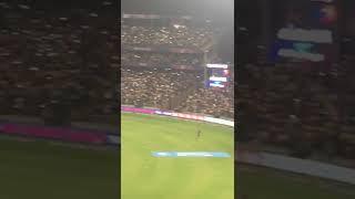 IPL 2018   CSK Vs SRH   M.S Dhoni Crowd goes Wild 😍😍 chanting Dhoni-Dhoni!!