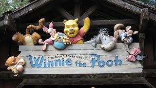 The Many Adventures of Winnie The Pooh - Disneyland HD (POV)
