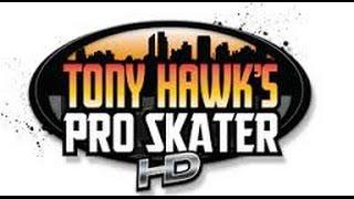 UN PEU DE SKATE (Tony hawk pro skater HD)