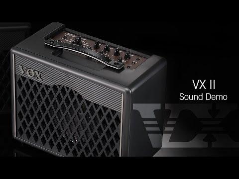 VOX VX Series: VXII Sound Demo