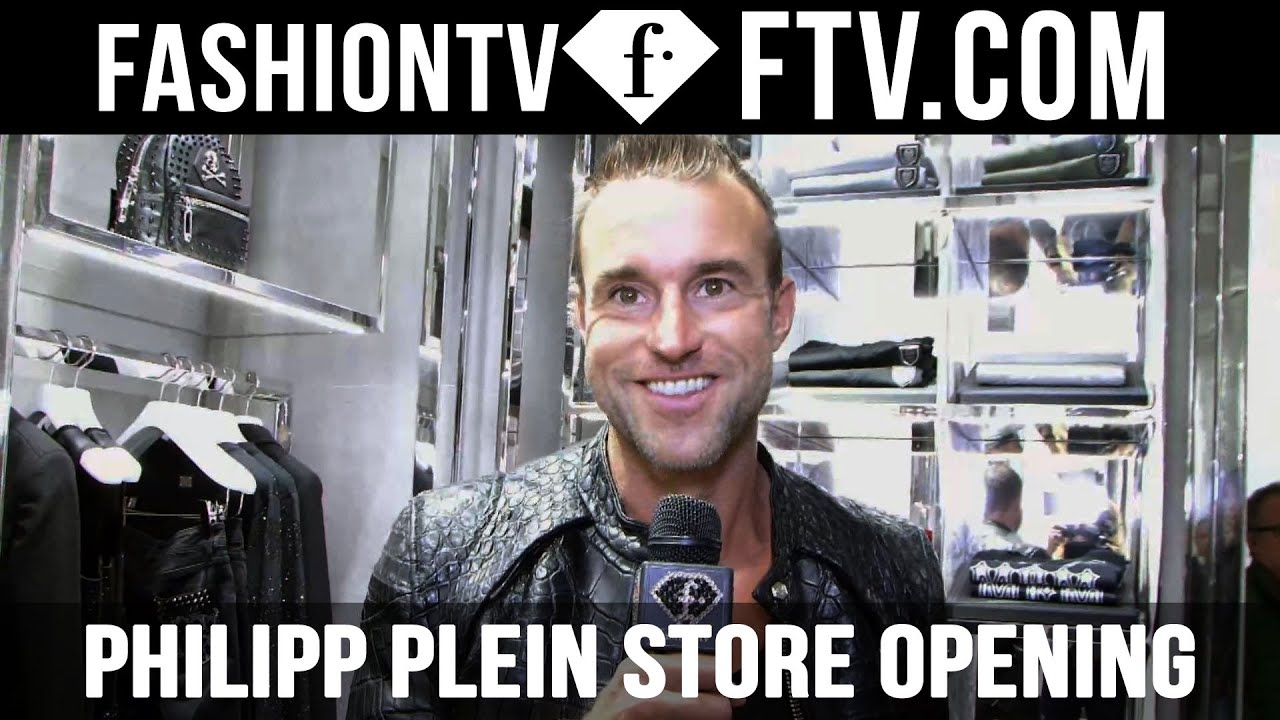 d4c8a575a5 Philipp Plein Store Opening Antwerpen 2015 | FTV.com - YouTube